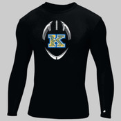 Poly K - Adult Compression Long-Sleeve Tee