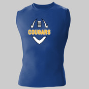 Cougars - Adult Compression Sleeveless Tee