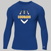 Cougars - Adult Compression Long-Sleeve Tee